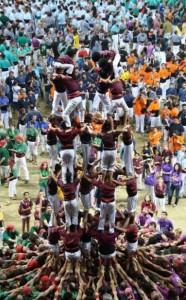 6-10-2012: set de set al Concurs Casteller de Tarragona