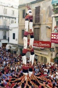 29-8-1998 segona torre de set carregada al Cap de la Vila