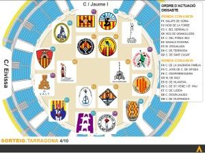 Resultat sorteig dissabte 4 d'octubre a Tarragona
