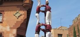 3 de 7 de la Colla Jove de Castellers de Sitges
