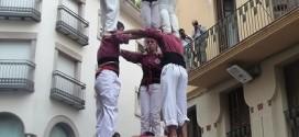 3 de 7 aixecat per sota de la Jove de Sitges a la Diada de la Colla de 2013