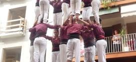 7 de 7 per la XXI Diada de la Colla Jove de Castellers de Sitges