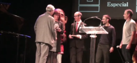 El president Eduard Terrado reben la XVII Distinció Especial