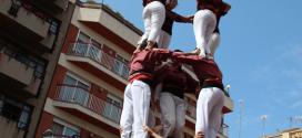 Alçant el 4 de 7 amb l'agulla a Gràcia